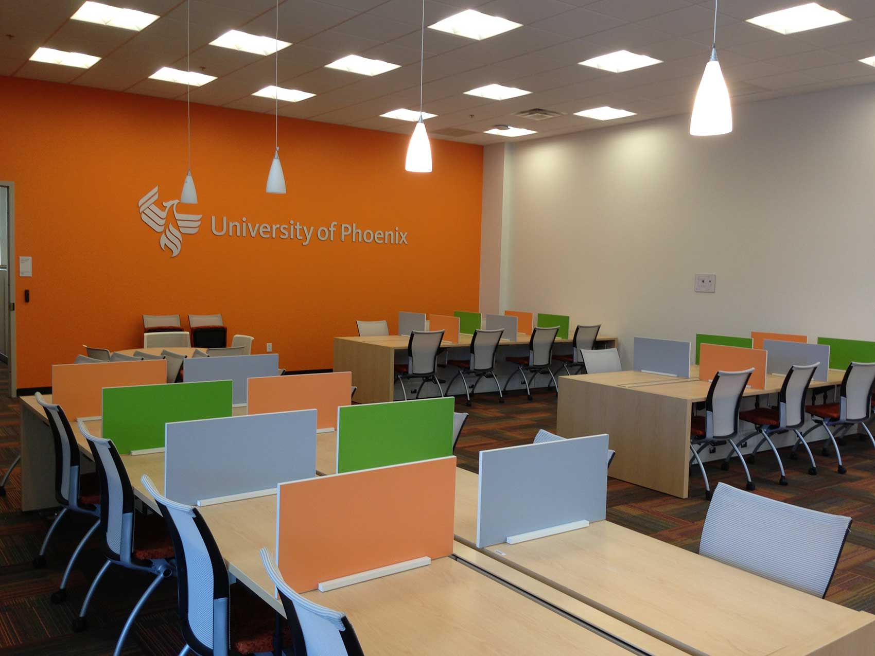 gallery photo : University of Phoenix Office Space Interior Buildout
